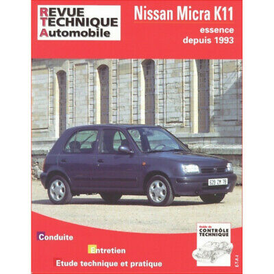 Revue Technique Nissan Micra Essence - Rta 572 / 9782726857212