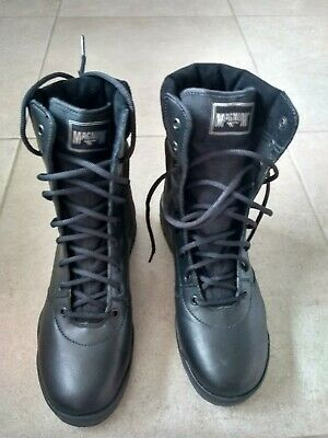 6d9ba2c9 MAGNUM SIZE 7 classic Cen boots in black work/patrol boots new in ...