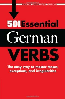 501 Essential German Verbs (Dover Language Guides),Dr Wolf