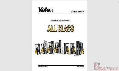 Yale Forklift Trucks Service Manuals All Class [06.2019] New Models