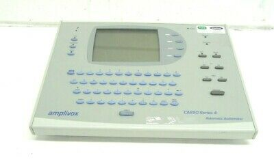 Amplivox CA580 Series 4 Automatic Audiometer For Statistical & Trending Analysis