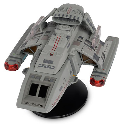 Eaglemoss Star Trek Starships Collection Xl Ed.runabout  Issue # 14 New In Stock