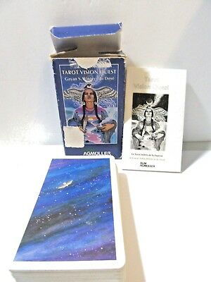 Tarot Vision Quest Agm Agmuller Switzerland 1998 Deck Complete W Instructions