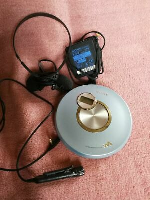 SONY D-EJ250 Digital Mega Bass tragbarer CD Player Walkman