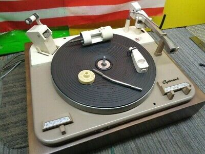 Estate* Vintage Garrard Model A Turntable