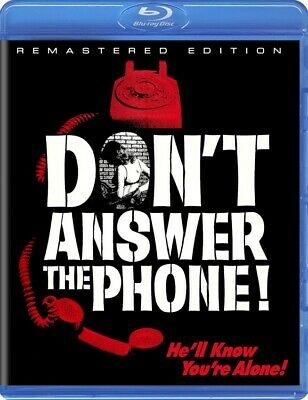 Don't Answer The Phone! (Blu-ray 1980) BRAND NEW!! OOP HTF RARE Scorpion Release