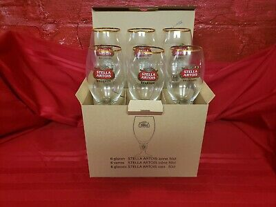 Case of 6 - Stella Artois 50cl Chalice Glasses