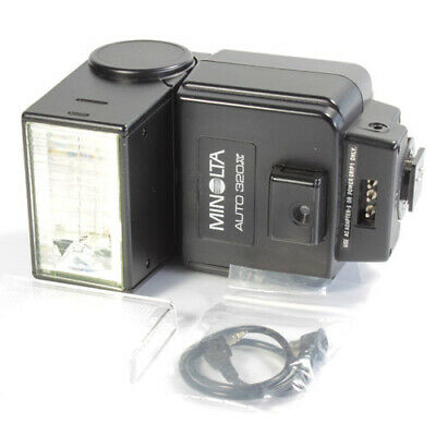 Minolta Auto 320x Flashgun for Minolta Film Cameras from Camera Dealer
