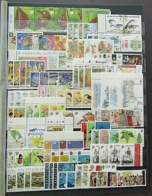 SINGAPORE - SUPERB COLLECTION OF 34 x MODERN SETS - HIGH FACE - PRISTINE MNH