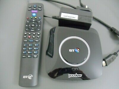 BT YouView Box Model DB-T2200 Boxed with Remote On Demand