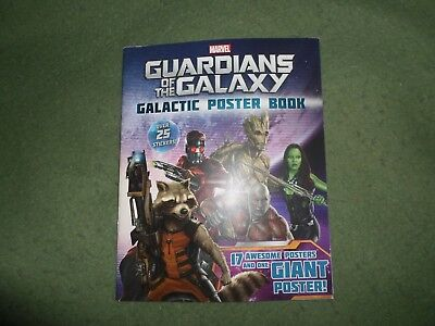 Guardians of the Galaxy Galactic Poster book, with over 25 stickers