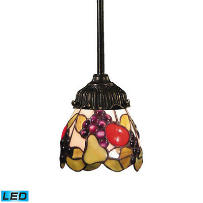 ELK Lighting 078-TB-19-LED Mix-n-match Pendant Tiffany Bronze