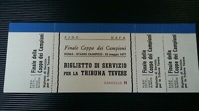Liverpool Borussia 1977 Final Vip complete Ticket