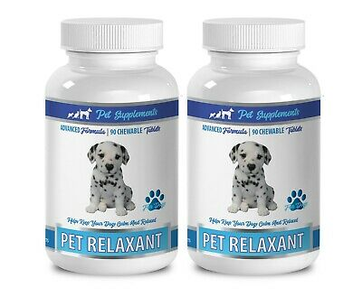 anxiety relief for dogs treats - DOG RELAXANT - dog calming tablets 2B