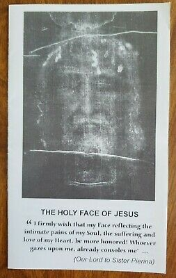 The Holy Face of Jesus prayer booklets (pack of 4)