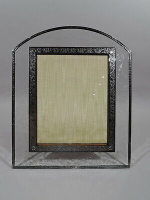Hawkes Frame - Picture Photo Antique Art Deco - American Sterling Silver & Glass
