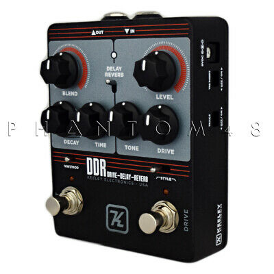 Keeley DDR - Drive, Delay, Reverb Multi-Effects Guitar Pedal in One