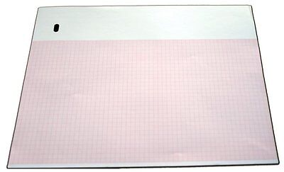 ECG Paper for Marquette - 9402-024 - 216mm X 280mm X 300 Sheets, Z-fold PK 10
