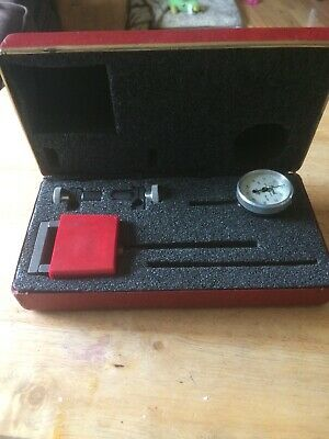 CENTRAL TOOL COMPANY MACHINIST DIAL INDICATOR MAGNETIC BASE #201 W/Case