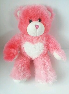 Build-a-Bear Workshop Pink Hugs For You Magnetic Valentine's Bear Toy Plush