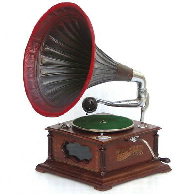 Genuine Antique Leophone Model 315 Gramophone Music Record Player Phonograph
