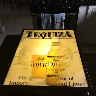 Anheuser-Busch TEQUIZA holographic light bar man cave