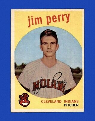 1959 Topps Set Break #542 - Jim Perry RC EX-EXMINT *GMCARDS*