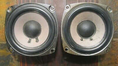 Pair of Realistic 1218 Woofers / Minimus 7 and Others