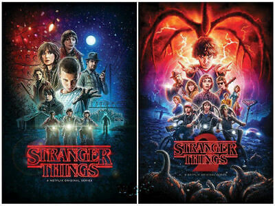 Stranger Things The Complete Seasons 1-2 (DVD,   5-Disc Box Set) compatible