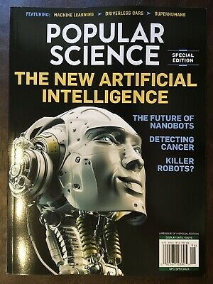 Popular Science 2019, The New Artificial Intelligence Brand New Free Shipping