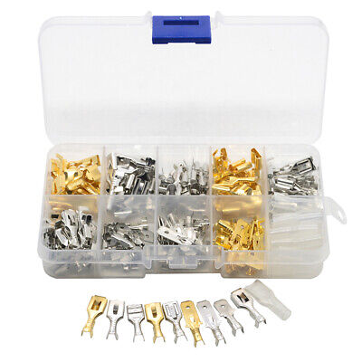 150pcs boxed 6.3 terminals Plug-in sheath connector Kits