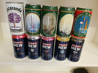 10 Mixed Beer Cans