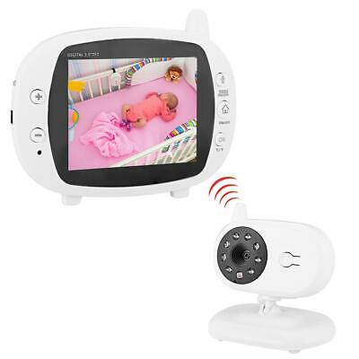 """Two-Way Baby Monitor Holder 3.5"""" LCD Flexible Video Camera Smart Home Nursery"""