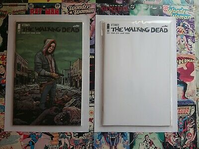 Walking Dead #192 Regular Cover And Blank Variant. New bagged and boarded 🔥