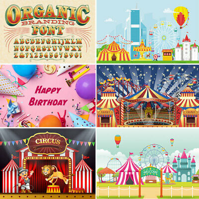 Circus Backdrops For Photoshoot Red Circus Tents Stratus Carnival Night Studio