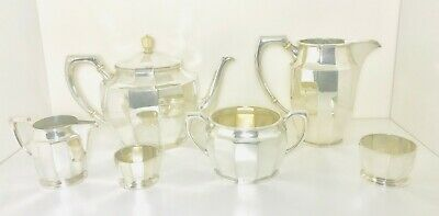 European solid silver Tea service set , Austria ,1867-1922 ,