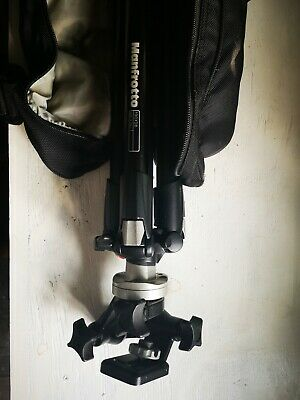 Manfrotto 190 xdb tripod with carry bag