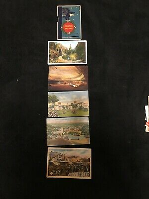 Lot Of 50 Vintage Postcards & Free Gifts , Used