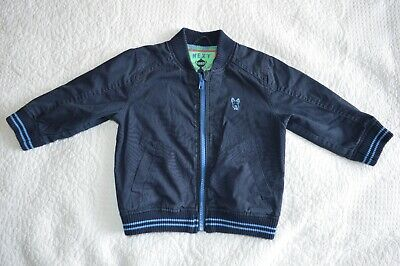 Brand new with tags Baby Boys Quilted Bomber Jacket//Coat Babaluno by Minoti