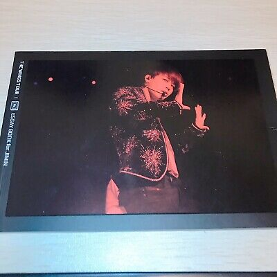 Jimin BTS Official 2017 The wings Tour Final Essay Book PhotoBook (no Photocard)