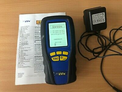 Anton Sprint Evo 2 Flue Gas Analyser Telegan Requires Calibration