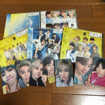 BTS JAPAN Lights Boy With Luv Set 5 CD  7 Selfie Photo Official FunClub Unplayed