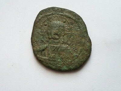 Byzantine Empire ,Follis Struck during the reign of Romanus III 1028-1034 A.D.