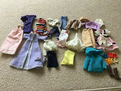 Clothes bundle for Sindy doll includes shoes and boots