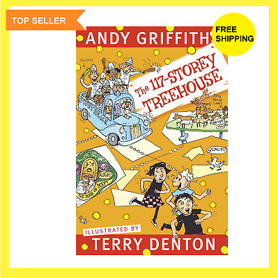 The 117-Storey Treehouse by Andy Griffiths  Terry Denton