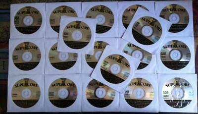 18 Cdg Discs Ultra Rare Supercore 2006 Karaoke Set Cd+G - Country,rock,oldies