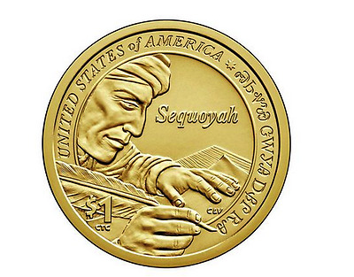 2017 D Uncirculated Golden Dollar Sacagawea Native American $1 Coin Frm Mint Bag