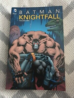 Batman Knightfall TP Vol 01 by Alan Grant, Chuck Dixon, Doug Moench - Like New