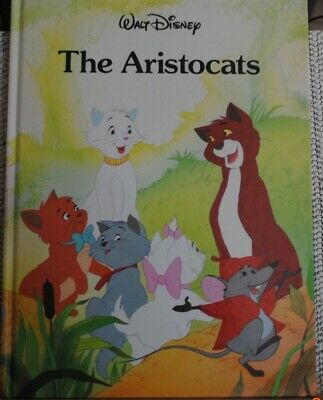 "Walt Disney ""The Aristocats"" 1988 11"" X 9"""
