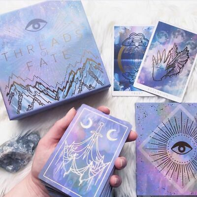 NEW Threads of Fate Oracle Deck by Blaire Porter and Brit June tarot gold foiled